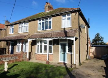 Thumbnail 3 bed semi-detached house for sale in Grand Avenue, Lowestoft