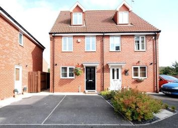 Thumbnail 3 bed semi-detached house for sale in Kingscroft Drive, Welton, Brough, East Riding Of Yorkshire