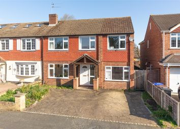 Thumbnail 5 bed semi-detached house for sale in Robert Close, Hersham Village, Surrey