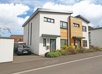 Thumbnail 3 bed semi-detached house for sale in Newcourt Drive, Exeter
