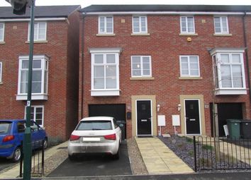 Thumbnail 4 bed end terrace house for sale in Molyneux Square, Peterborough