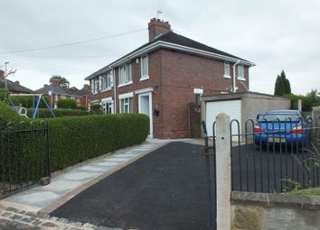 Thumbnail 3 bedroom semi-detached house for sale in Norris Road, Stanfields, Stoke-On-Trent