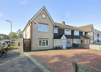 Thumbnail 5 bedroom semi-detached house for sale in Furzehill Road, Borehamwood