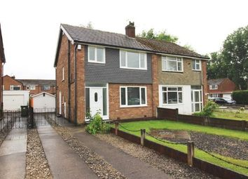 Thumbnail 3 bed semi-detached house for sale in Zurich Gardens, Bramhall, Cheshire, .