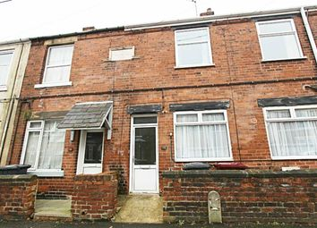 Thumbnail 2 bed terraced house to rent in Hunloke Road, Chesterfield, Derbyshire