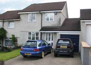 Thumbnail 3 bed property to rent in Foyle Close, Plympton, Plymouth
