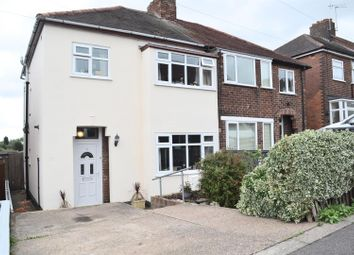 Thumbnail 3 bed semi-detached house for sale in Highfield Road, Swadlincote