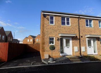 Thumbnail 2 bed semi-detached house for sale in Llys Tre Dwr, Waterton, Bridgend.