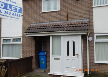Thumbnail 3 bed town house to rent in Bechers, Widnes