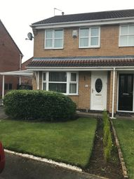 Thumbnail 3 bed semi-detached house for sale in Merlin Close, Adwick-Le-Street, Doncaster