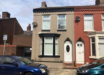 Thumbnail 3 bed end terrace house to rent in Pennington Street, Walton, Liverpool