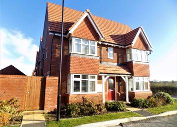 Thumbnail 3 bed detached house for sale in Augustus Close, Tadpole Garden Village, Swindon
