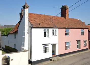 Thumbnail 4 bed semi-detached house for sale in The Street, Stanton, Bury St. Edmunds