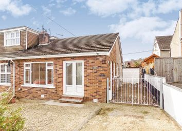 Thumbnail 2 bed semi-detached bungalow for sale in Caer Efail, Pencoed, Bridgend .