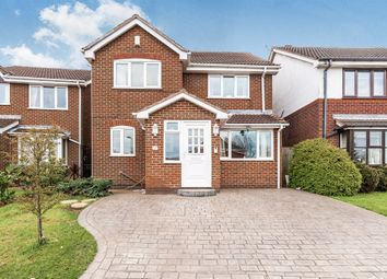 Thumbnail 4 bedroom detached house for sale in Redbridge Drive, Nuthall, Nottingham