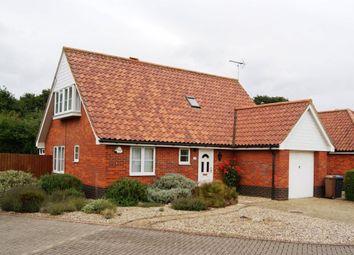 Thumbnail 3 bedroom detached house to rent in Sandling Crescent, Bixley Farm, Ipswich