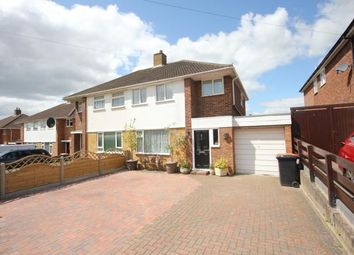 Thumbnail 3 bed semi-detached house for sale in Larkway, Bedford, Bedfordshire