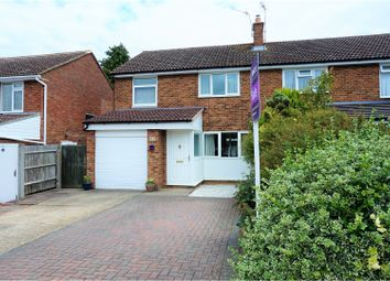 Thumbnail 3 bed semi-detached house for sale in Ross Close, Saffron Walden