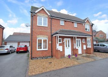 Thumbnail 3 bed semi-detached house for sale in The Glebe, Clapham, Bedford