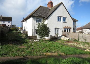 Thumbnail 3 bed semi-detached house for sale in Hill Lane, Carhampton, Minehead