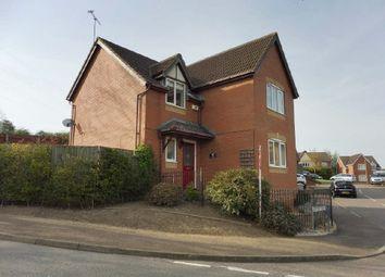 Thumbnail 4 bed detached house for sale in Hilltop Drive, Oakham