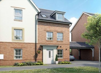 """Thumbnail 3 bed semi-detached house for sale in """"Norbury"""" at Broughton Crossing, Broughton, Aylesbury"""