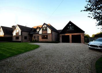 Thumbnail 5 bedroom detached house to rent in Manor Farm Lane, Tidmarsh, Reading