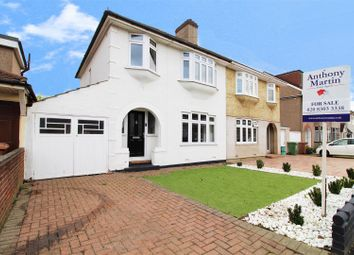 Thumbnail 3 bed semi-detached house for sale in Oakhurst Avenue, Bexleyheath