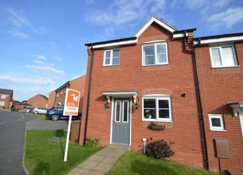 Thumbnail 3 bed semi-detached house for sale in Grindley Way, Woodville, Swadlincote