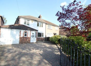 Thumbnail 3 bed semi-detached house to rent in Hayeswater Road, Urmston, Manchester