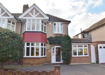 Thumbnail 4 bedroom semi-detached house for sale in Montrose Avenue, Whitton, Twickenham