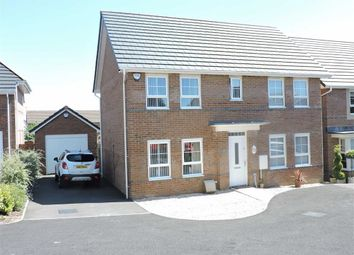 Thumbnail 4 bed detached house for sale in Horizon Way, Loughor, Swansea