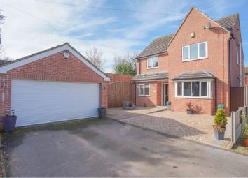 Thumbnail 4 bed detached house for sale in Spinney Close, Fauld, Tutbury