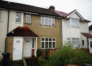 Thumbnail 3 bed terraced house for sale in Cranleigh Road, Lower Feltham