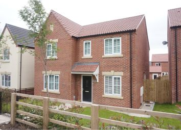 Thumbnail 4 bed detached house for sale in Castle Road, Cottingham