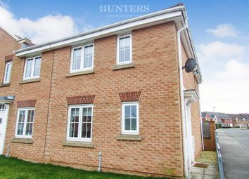 Thumbnail 3 bedroom end terrace house for sale in Sunningdale Way, Gainsborough, Gainsborough