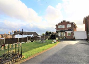 Thumbnail 3 bed detached house for sale in Shrewsbury Drive, Red Street, Newcastle
