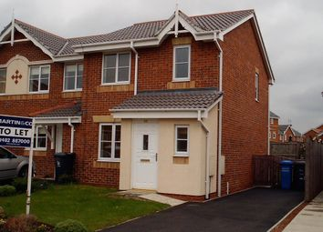 Thumbnail 3 bed semi-detached house to rent in Bushey Park, Kingswood, Hull