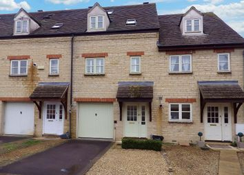 Thumbnail 4 bed terraced house to rent in Waine Rush View, Witney, Oxfordshire