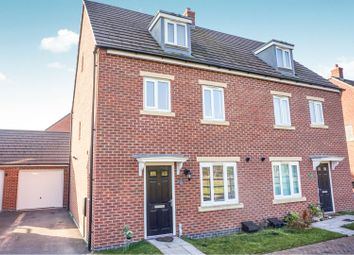 Thumbnail 4 bed semi-detached house for sale in Langley Way, Rugeley