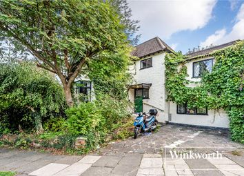 Thumbnail 4 bed semi-detached house for sale in Village Road, Finchley, London