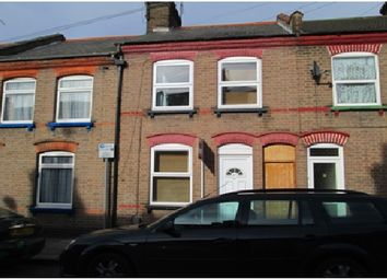 Thumbnail 3 bed terraced house to rent in Baker Street, Luton