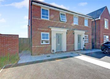Thumbnail 2 bed semi-detached house for sale in Greycing Street, St Andrew's Ridge, Swindon, Wiltshire