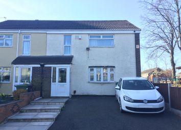 Thumbnail 4 bed semi-detached house to rent in Graiseley Lane, Wednesfield, Wolverhampton