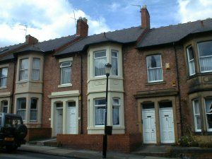 Thumbnail 3 bedroom flat to rent in Grosvenor Road, Newcastle Upon Tyne