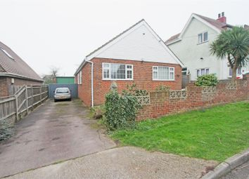 Thumbnail 3 bed detached bungalow for sale in Lynmouth Drive, Minster On Sea, Sheerness