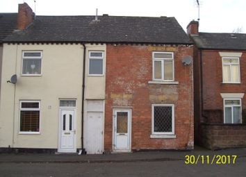 Thumbnail 2 bed end terrace house for sale in Prince Street, Ilkeston, Derbyshire