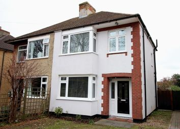 Thumbnail 3 bed semi-detached house for sale in Southampton Road, Park Gate, Southampton