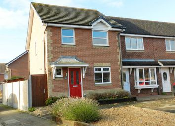 Thumbnail 3 bed terraced house to rent in Chandlers Close, Marston Moretaine, Bedford