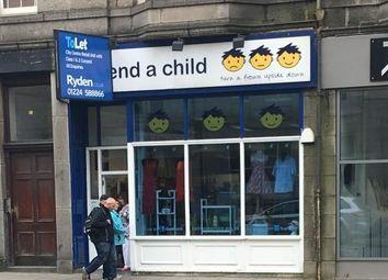 Thumbnail Retail premises to let in 27 Holburn Street, Aberdeen